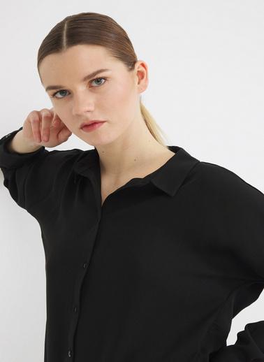 Love My Body Gömlek Siyah
